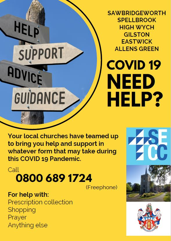 COVID support leaflet