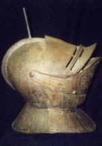 Helmet of Sir George Leventhorpe