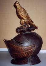 Helmet with crest of Sir Thomas Hewyt
